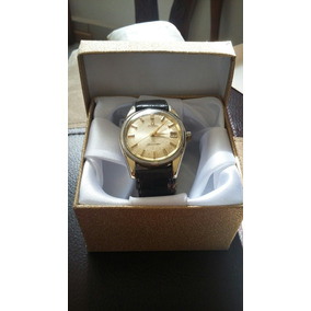 Reloj Omega Seamaster Automatico Para Caballero Chapa Oro