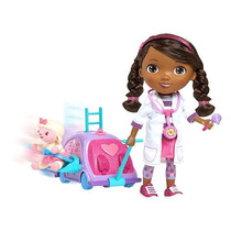 Muñeca Doc Mcstuffins Con Clinica Habla Doctora Juguetes
