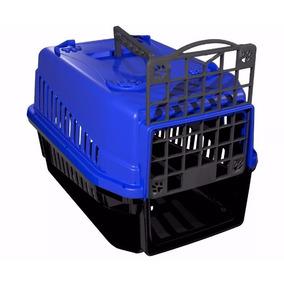 Caixa De Transporte Cães E Gatos N1 Diversas Cores Promoção