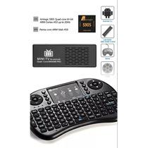 Combo Smart Tv Box Mk809 Full Hd+teclado Inalámbrico Local !