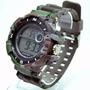 Relógio Masculino Militar Camuflado Estiloso Dia Dos Pais