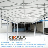 Lona Cobertura Carro Garagem Barraca Tenda Varanda 5x3 M