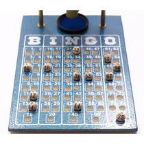 Kit Bingo Tabuleiro + Bolinhas De 75 Numeros