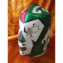 Mascara De Doctor Wagner Tricolor Mexicana