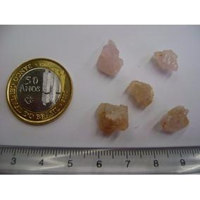 Rb1106 - Pedra Mineral Morganita Bruta Lote Coleção