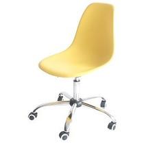 Cadeira Eiffel Eames Office Amarela