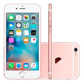 Iphone 6s Plus Apple 128gb Ouro Rosa 5,5 Retina 4g Ios 9 Ch