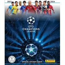 Album Uefa Champions League 2013/14 Panini Completo Colado