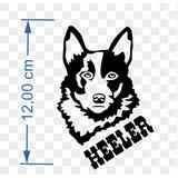 Adesivo Country - Cão Boiadeiro ( Blue Heeler )