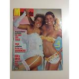 Revista Manchete Xuxa Brunet Elis Regina Pelé Garrincha 1983