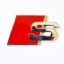 Acessório Emblema Audi S Line Sline S3 Traseira Paralama
