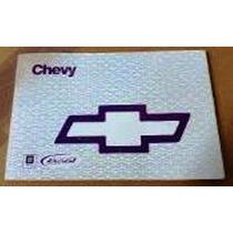 Manual Del Propietario Chevy 2000 (libro Impreso Original)