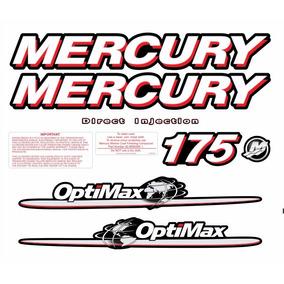 Adesivo Faixa Mercury 175hp Optimax