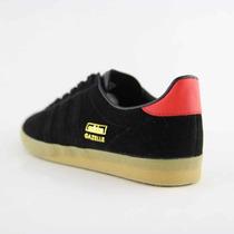 Gomas Adidas Gazelle Og Black Red.