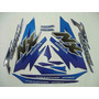 Jogo Adesivo Nx4 Falcon 2000 Azul - Frete R$9.90
