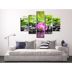 Cuadros Relajantes De Orquídeas Flores - Decoración Arte