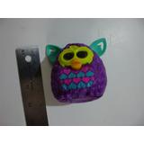 = Mc Donalds = Furby Roxo Olhos Acendem Hasbro 2013 Usa