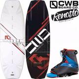 Tabla De Wakeboard Cwb Pure 134 Y 141 Con Botas Empire