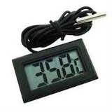 02 Unidades Termômetro Digital P/ Aquário Freezer Chocadeir