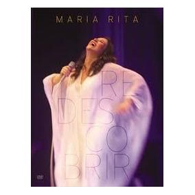 Dvd Maria Rita - Redescobrir - Novo E Lacrado