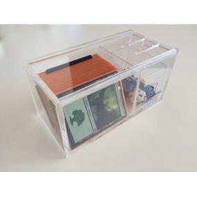 Deckbox Em Acrilico P/ Magic The Gathering Caixa De Pandora