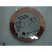 Windows Vista Starter 32 Bits Original + Chave De Ativação