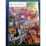 Dragon Ball Z La Batalla De Los Dioses Battle Of Z Xbox 360