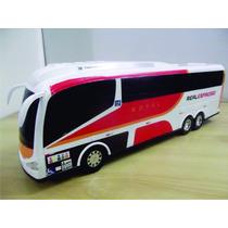 Miniatura Ônibus Rodoviário Viação Expresso Real Empresas