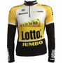 Camisa Ciclismo Ert Lotto Jumbo Manga Longa Bike Mtb Speed