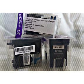 Cartucho De Tinta Compatível Hp 122xl Black (ch563) 20ml