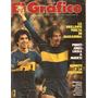 El Grafico 3180 Piquet Argentinos 6 Maradona Boca Outes
