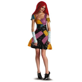 Disfraz Mujer Sally Sexy Halloween Novia Jack Skellington