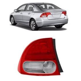 Lanterna Traseira New Civic 2007 2008 09 2010 2011 Canto Le