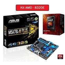 Kit Amd Placa Mãe M5a78l-m Plus Usb3 + Processador Fx 8320e