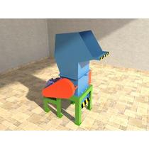 Planos Fabricacion De Molino 15 Hp ,plasticos,pet