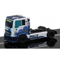 Para Entendidos!! Camion Team Scalextric Blue Racing Truck