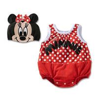 Fantasia Bebê Minnie Mickey Importado Pronta Entrega