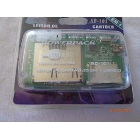 Leitor 33 Em 1 Usb 2.0 Powerpack Ad-101 Original Novo