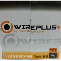 Cable Utp Cat5e Redes Lan Y Cctv X Metro