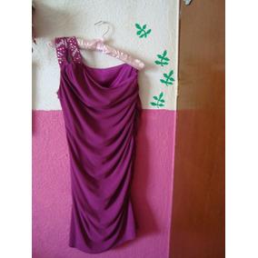 Vestido De Fiesta, Limpia De Clóset T34, Morado