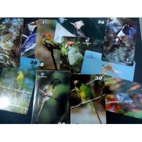 Cartão Série Aves Da Bahia 1999 20 Cts. Completa Bom Estado