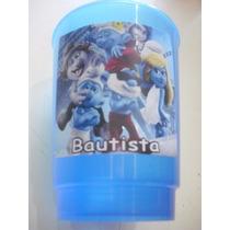 Vasos Plasticos Personalizados Los Pitufos Cumpleaños 10u