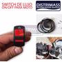 Switch Boton Para Moto Para Barra Led Faro U7 Halogeno Y Mas