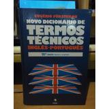 Novo Dicionário De Termos Técnicos V 1 Inglês - Português