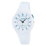 Reloj Lorus By Seiko R2319jx9 Dama Analogico Blanco