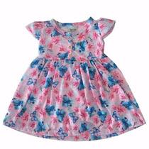 Vestido Infantil Feminino Bebe Criança Menina- 010239