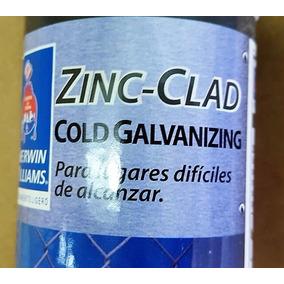 Zinc Clad Cold Galvanizing Aerosol P/ Galvanizado En Frio X3