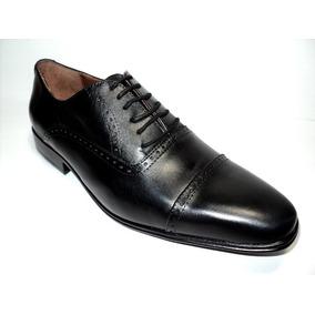 Zapatos De Vestir En Cuero Vacuno Negro Franco Pasotti