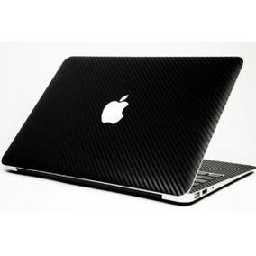 Skin Laptop Macbook Pro Fibra Carbono Rotulado Todo Completo