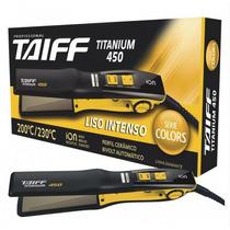Prancha Chapa Taiff Titanium 450 Colors Bivolt 230º Amarela